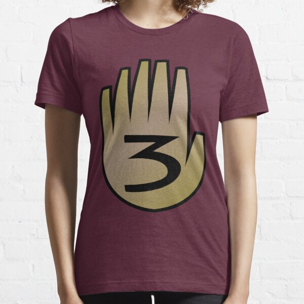 3 Hand Book From Gravity Falls Essential T-Shirt