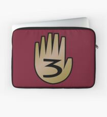 3 Hand Book From Gravity Falls Laptop Sleeve