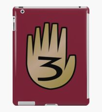 3 Hand Book From Gravity Falls iPad Case/Skin