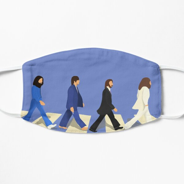 The Beatles Abbey Road Studios album cover Mask
