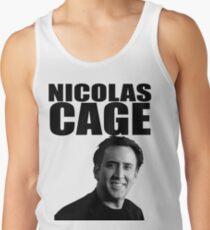 Nicolas Cage Tank Top