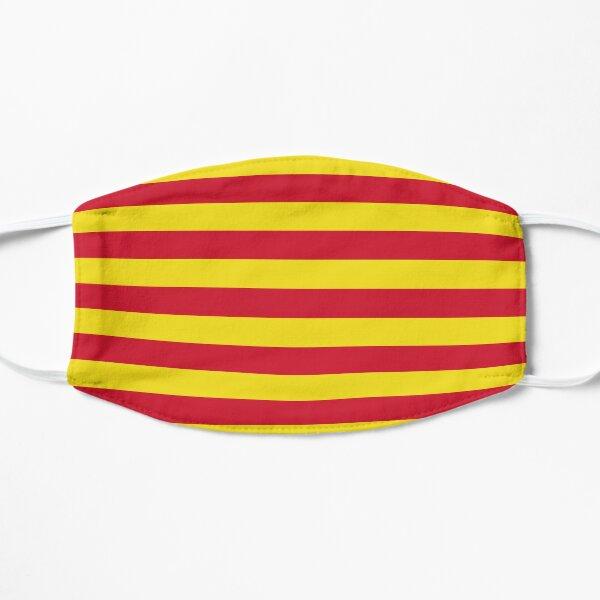 Northumberland flag stripes Mask