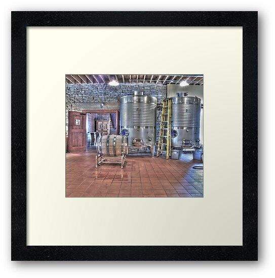 Vat to Barrel I by Jimmy Ostgard
