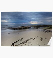 Low Tide At Redgate Beach - Western Australia Poster