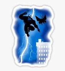 The Blue Mite Returns Sticker
