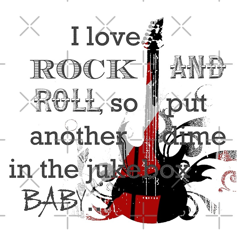 """I LOVE ROCK AND ROLL"" by EMana-Lier- 