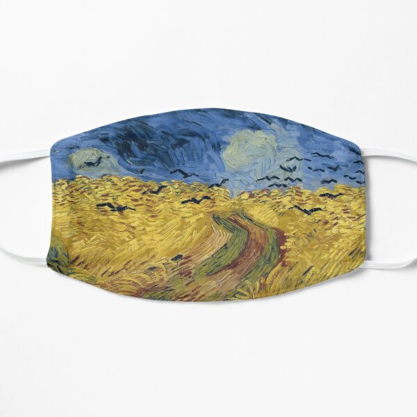 Vincent Van Gogh - Wheat Field with Crows Mask