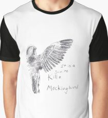To Kill a Mockingbird - Transparent Graphic T-Shirt