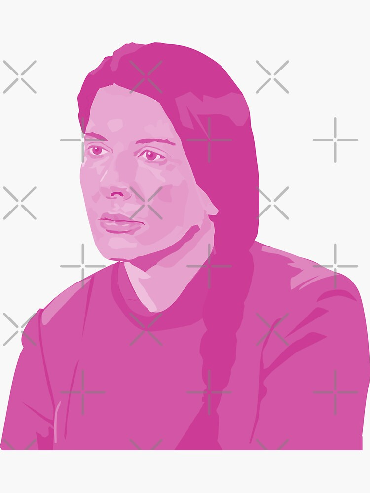 the beautiful Marina Abramovic by mayerarts