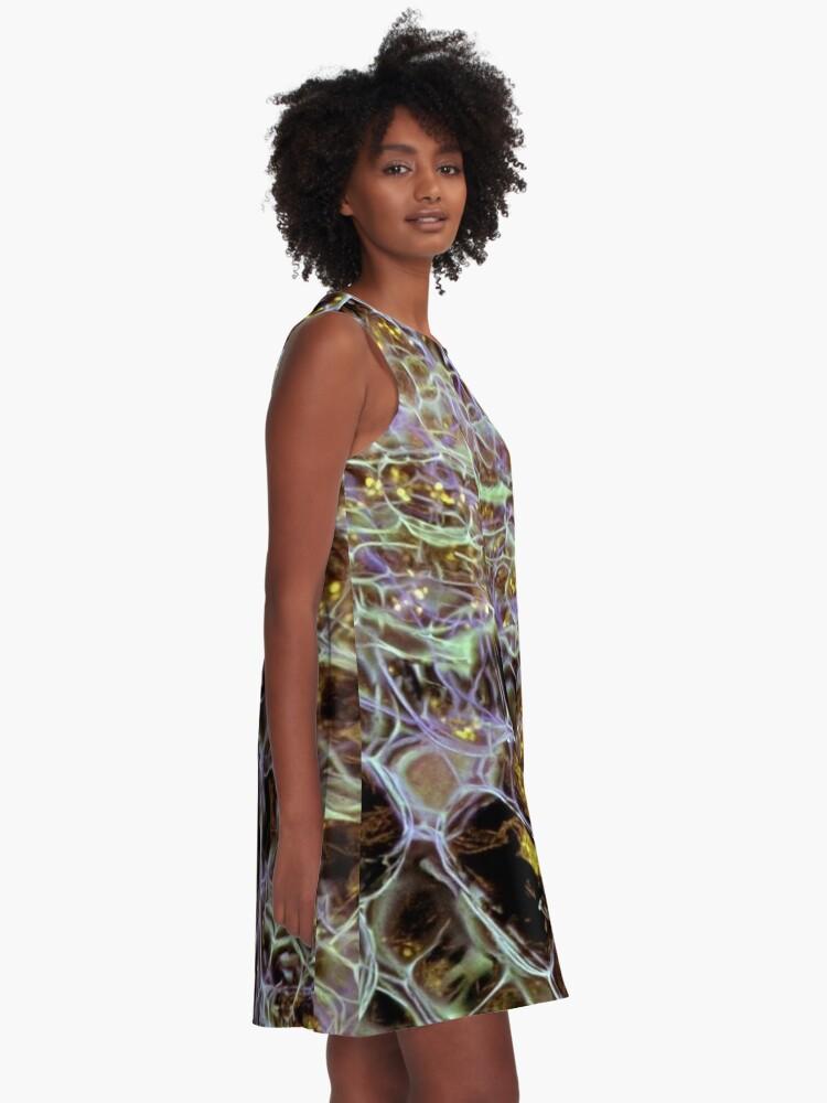 Alternate view of Mesh A-Line Dress