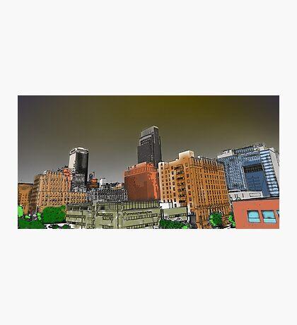 Omaha Paint Photographic Print