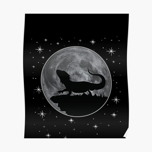 Bearded Dragon Gift Poster