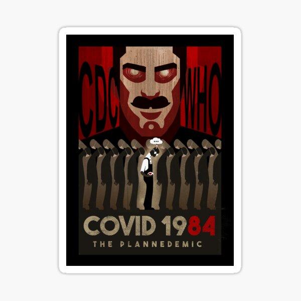 COVID 1984 Sticker