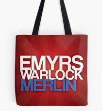 Merlin Poster Tote Bag