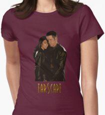 Farscape - John Crichton & Aeryn Sun Women's Fitted T-Shirt