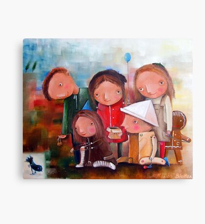 Foundling Canvas Print