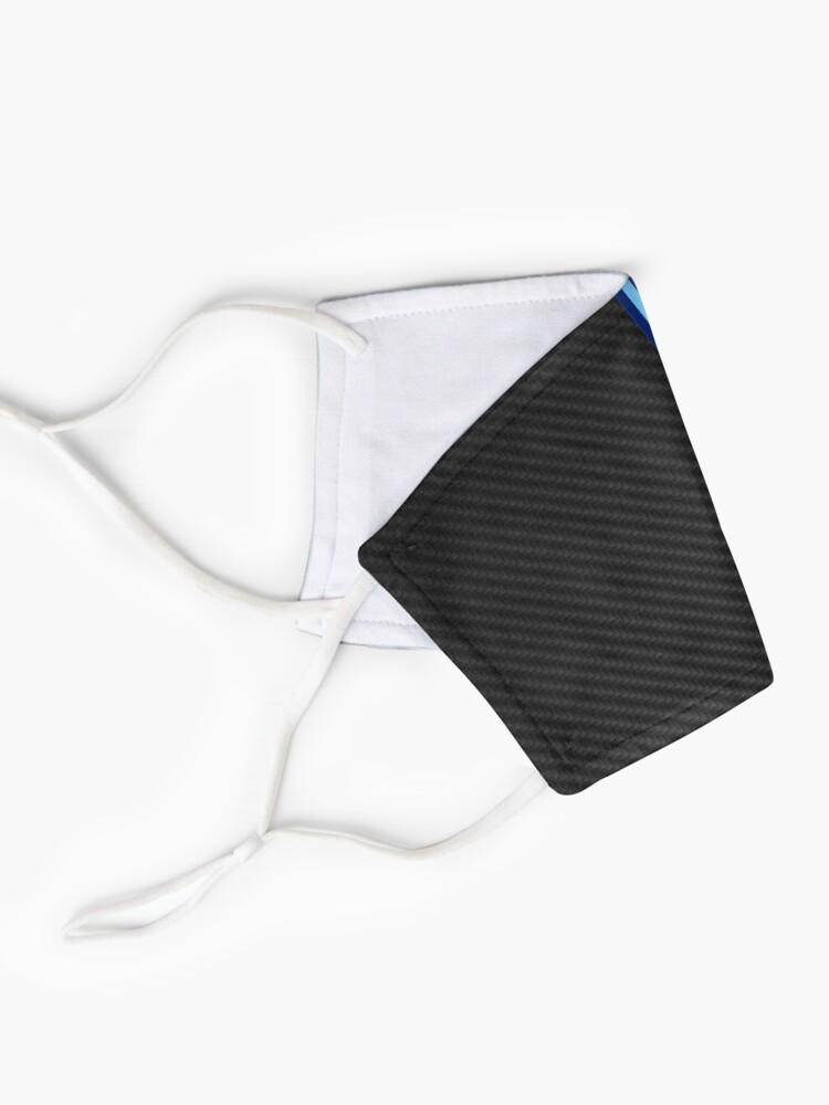 Masque ''Bande de course en fibre de carbone 3': autre vue
