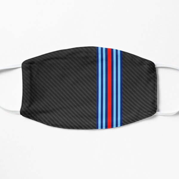 Carbon Fiber Racing Stripes 3 Mask