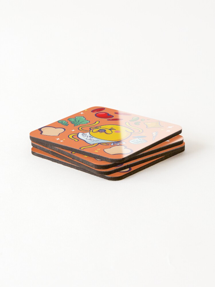 Alternate view of Make a sandwich with jake! Coasters (Set of 4)