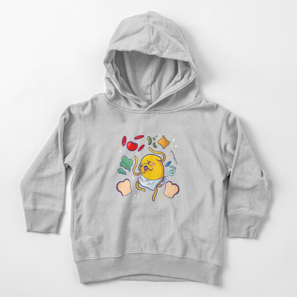 Make a sandwich with jake! Toddler Pullover Hoodie