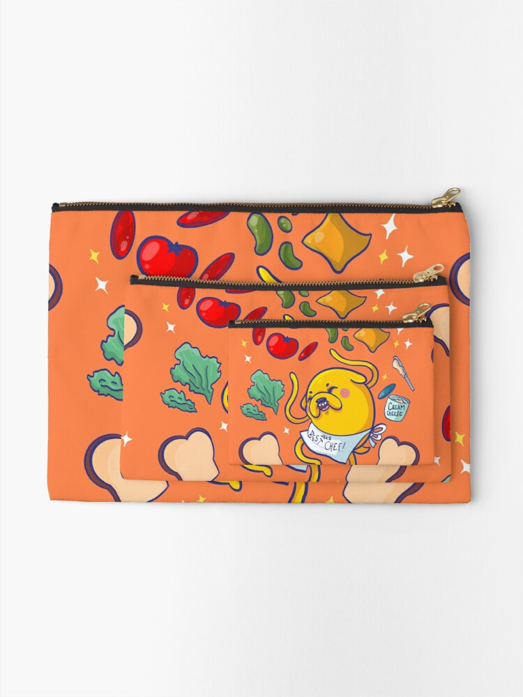 Alternate view of Make a sandwich with jake! Zipper Pouch