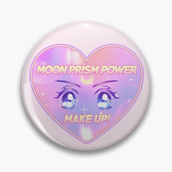 Moon Prism Power Make Up! Sailor Moon transformation Pin