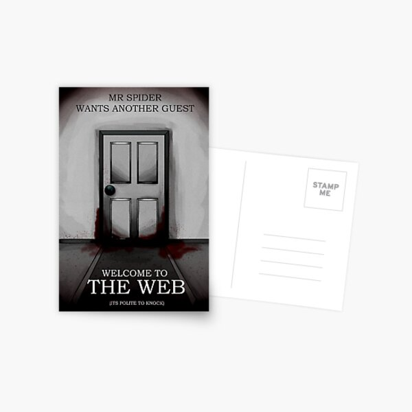 the magnus archives - the web recriutment poster  Postcard