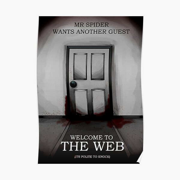 the magnus archives - the web recriutment poster  Poster