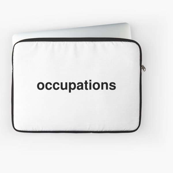 occupations Laptop Sleeve