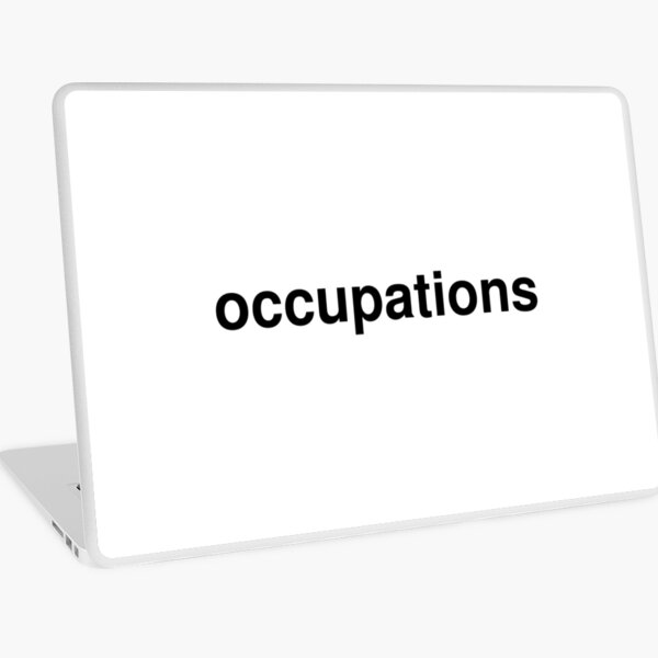 occupations Laptop Skin