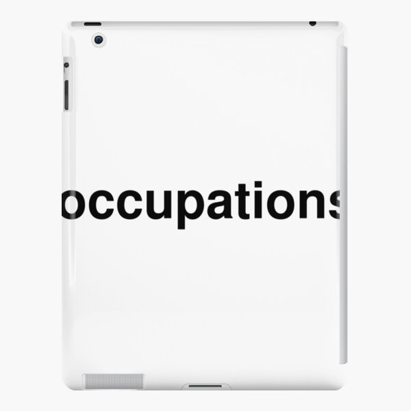 occupations iPad Snap Case