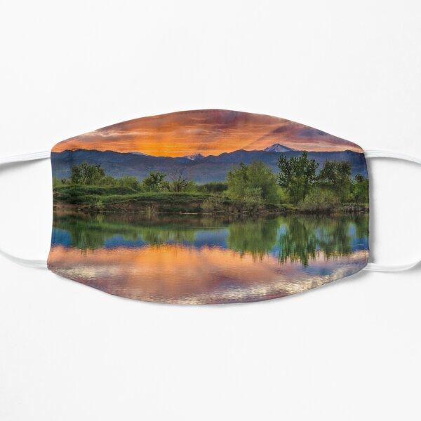Sunset Sawhill Ponds Paintbrush Mask