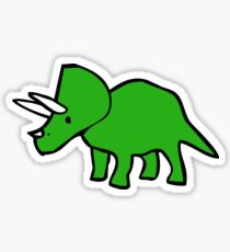 Cute Triceratops Sticker