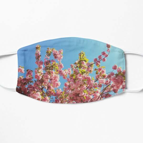 Floral Gift - Cherry Blossoms Photography - Gardener Present Mask