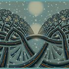 Celtic Winter Forest by inkedsandra