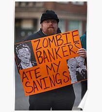 Occupy Portrait #3 Poster