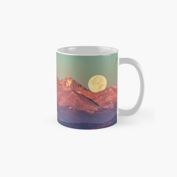 The Moon Turns To Sleep Classic Mug