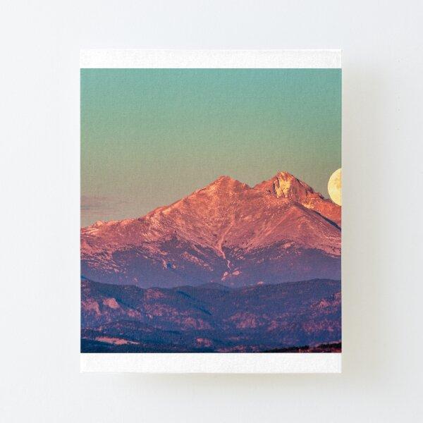 The Moon Turns To Sleep Canvas Mounted Print