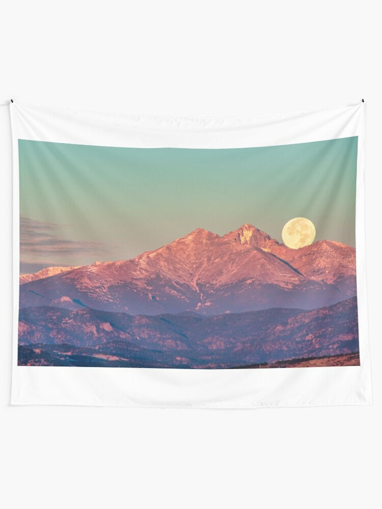 Alternate view of The Moon Turns To Sleep Tapestry