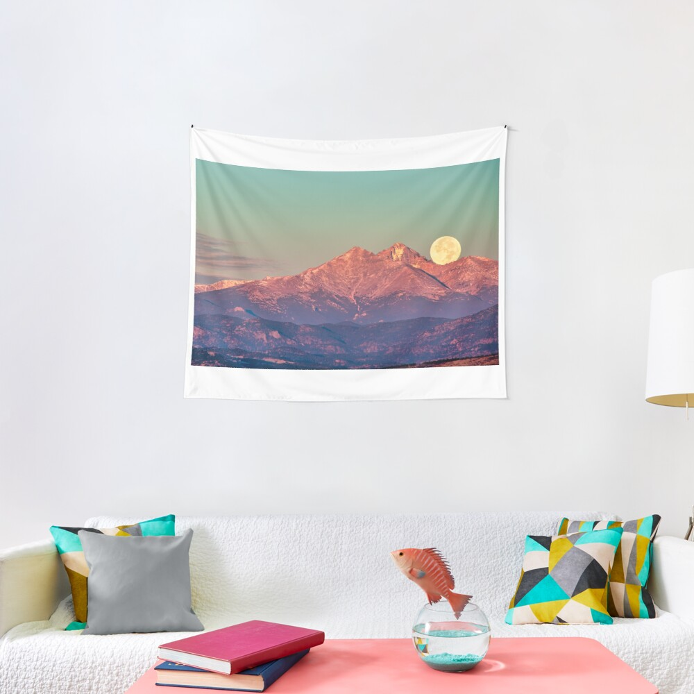 The Moon Turns To Sleep Tapestry