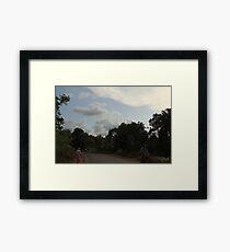 Rural countryside Framed Print