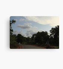 Rural countryside Canvas Print