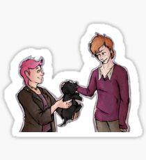 Tonks, Remus, Puppy Sticker