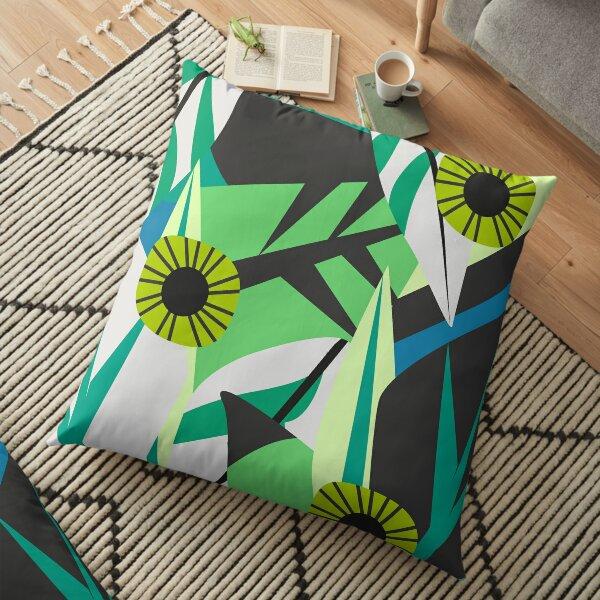 Fresh tropical decor Floor Pillow