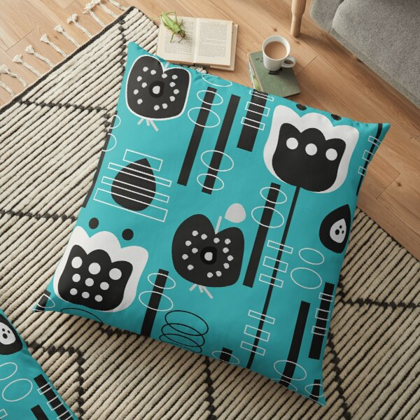 Fruity mid-century decor Floor Pillow