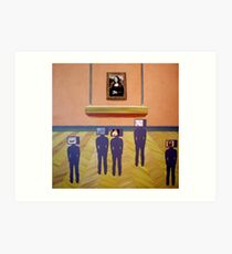They All had a Good Look in the Giftshop Art Print