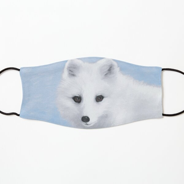Arctic Fox Kids Mask