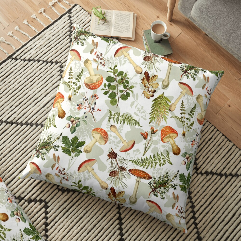 Thanksgiving Harvest  -  Floor Pillow