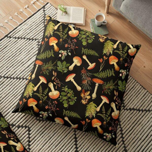 Thanksgiving Harvest   Floor Pillow