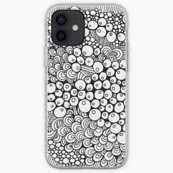 Lamb's Abstract Doodle iPhone Soft Case